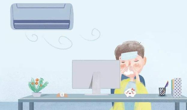 冬季吹空调空调病